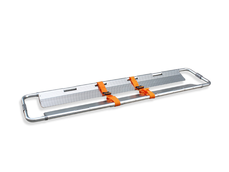 Scoop stretcher (non-telescopic folding)