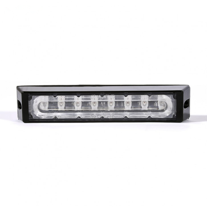 LED Emergency Strobe Dash Warning Light 24W Low Profile Super Bright Flashing Grille headLights for Fire Truck